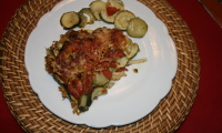 TIAN  COURGETTE  TOMATE  «Façon Ginette»